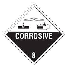 corrosive pictogram