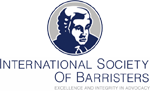 International Society of Barristers Badge
